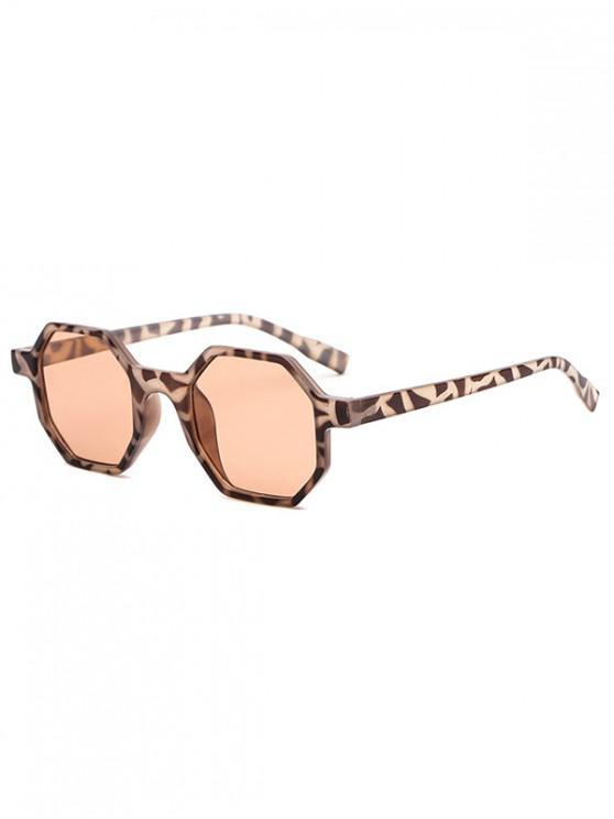 outfit Outdoor Anti UV Irregular Sunglasses - LEOPARD REGULAR