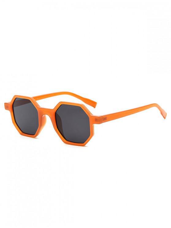 shop Outdoor Anti UV Irregular Sunglasses - TANGERINE REGULAR