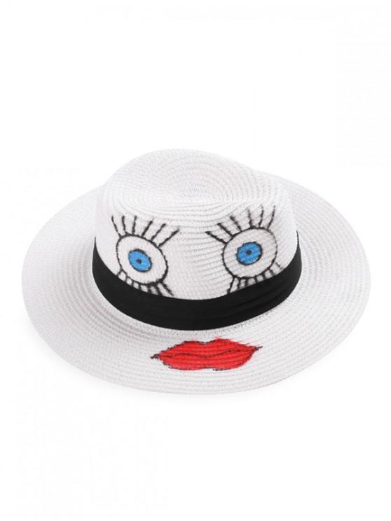 outfit Cartoon Pattern Bowler Hat - MULTI-A