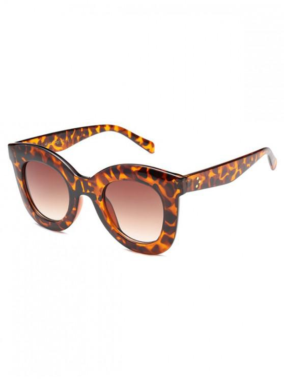 buy Wide Rim Anti UV Sunglasses - LEOPARD REGULAR