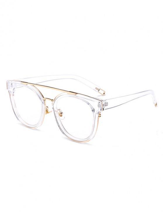women's UV Protection Bar Sunglasses - TRANSPARENT REGULAR