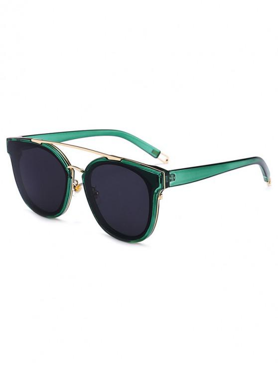 sale UV Protection Bar Sunglasses - SEA GREEN REGULAR
