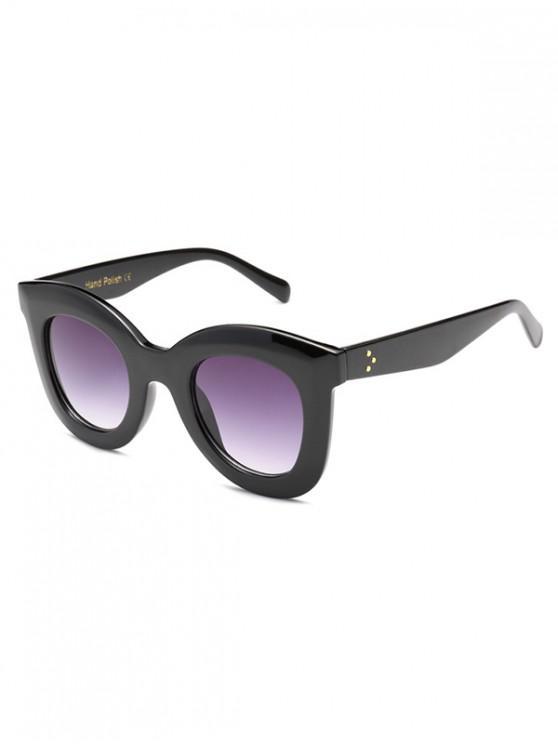 outfits Wide Rim Anti UV Sunglasses - MAUVE REGULAR