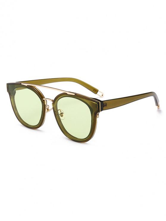 shops UV Protection Bar Sunglasses - AVOCADO GREEN REGULAR