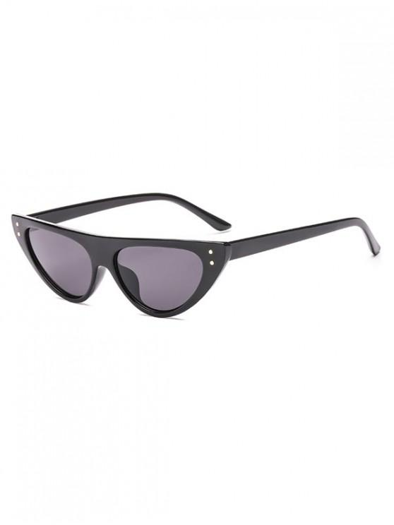 sale Triangle Catty Eye Sunglasses - BLACK REGULAR