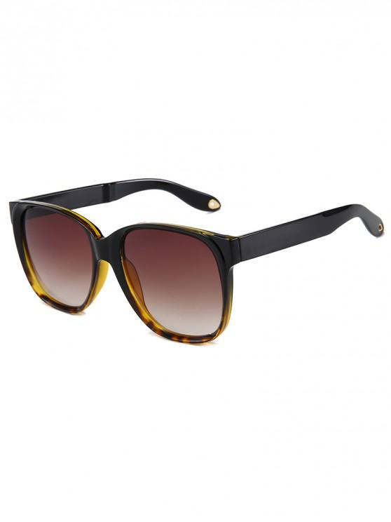 hot Outdoor Anti UV Square Sunglasses - PUCE REGULAR