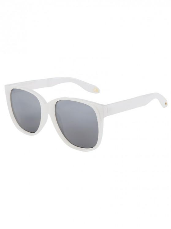 outfit Outdoor Anti UV Square Sunglasses - SILVER REGULAR
