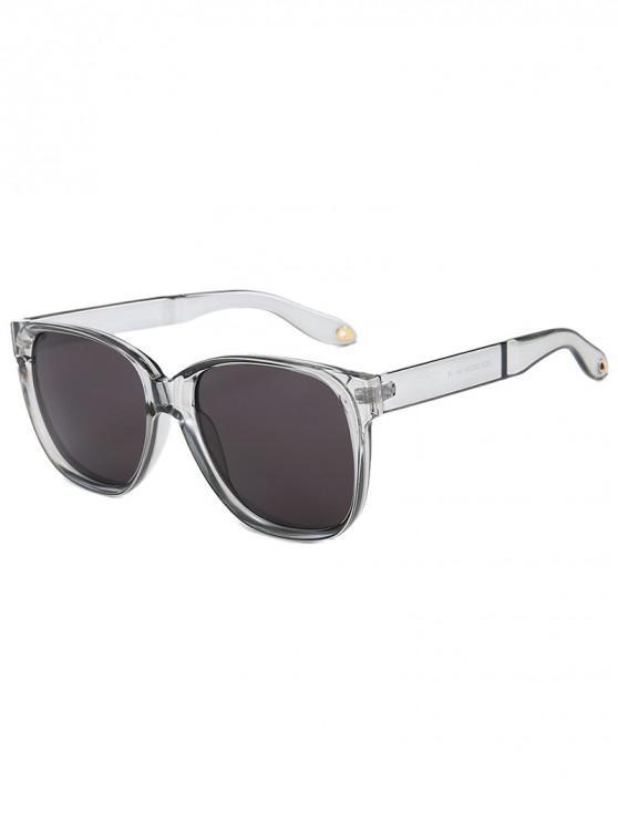 lady Outdoor Anti UV Square Sunglasses - TRANSPARENT REGULAR