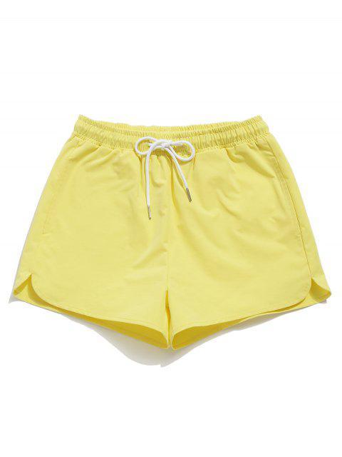 ZAFUL Drawstring Pocket Shorts - Amarillo L Mobile