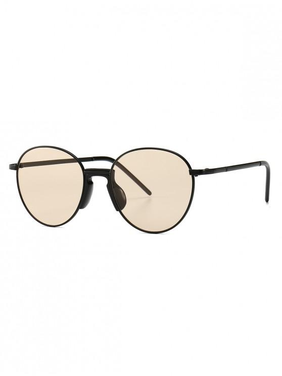0c39adc5c 9% OFF] 2019 Vintage Metal Round Sunglasses In CHAMPAGNE GOLD | ZAFUL