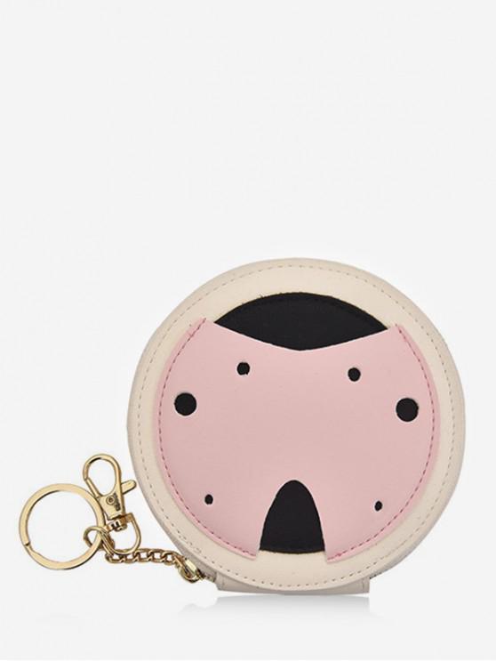 women Cute Ladybug Coin Bag - PINK