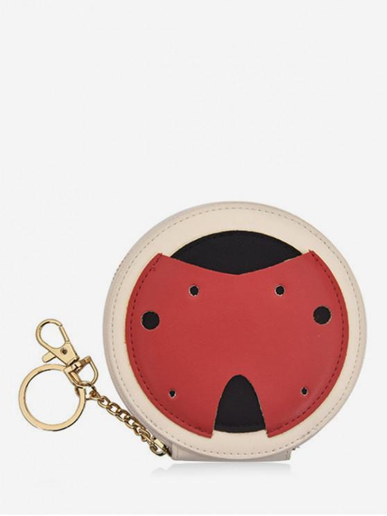 hot Cute Ladybug Coin Bag - RED