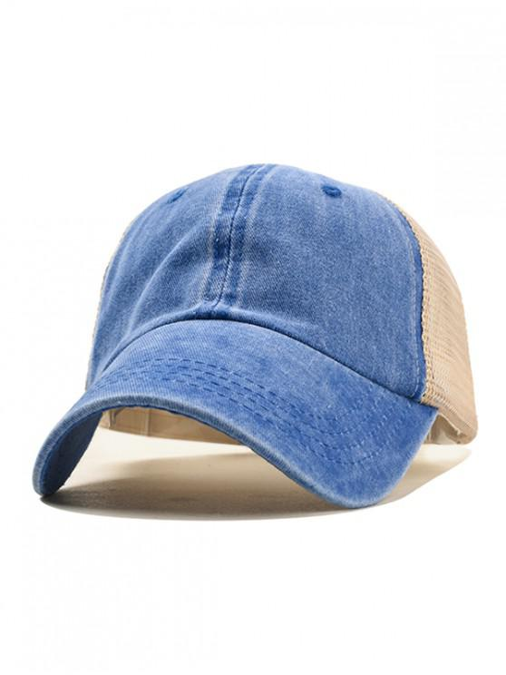 womens Casual Simple Style Baseball Hat - BLUE