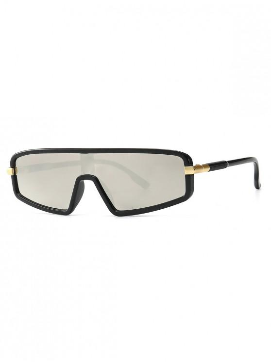 new Vintage Integral Irregular Sunglasses - SILVER
