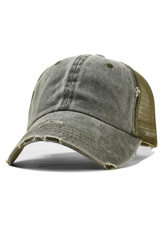 lady Summer Polish Baseball Hat - ARMY GREEN