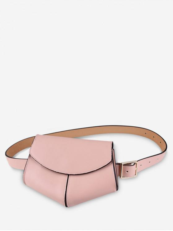 lady Irregular Shape Belt Bag - PINK