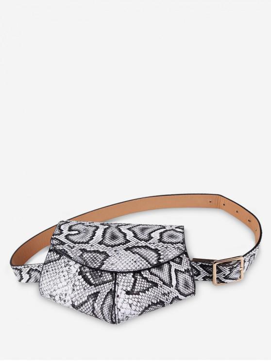 trendy Irregular Shape Belt Bag - MULTI-A