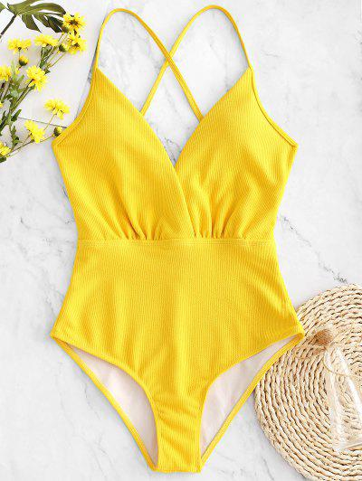 8fde24abd31 2019 Yellow One Piece Swimsuit Sale Online | Up To 73% Off | ZAFUL