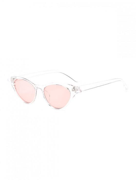 women's Irregular Anti UV Egg Shape Sunglasses - TRANSPARENT REGULAR