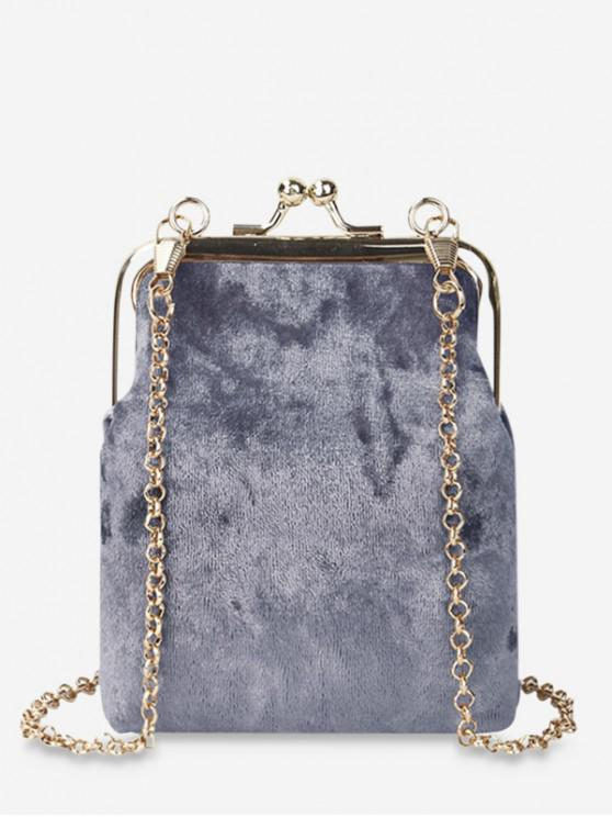 hot Crossbody Ins Style Coin Bag - BLUE