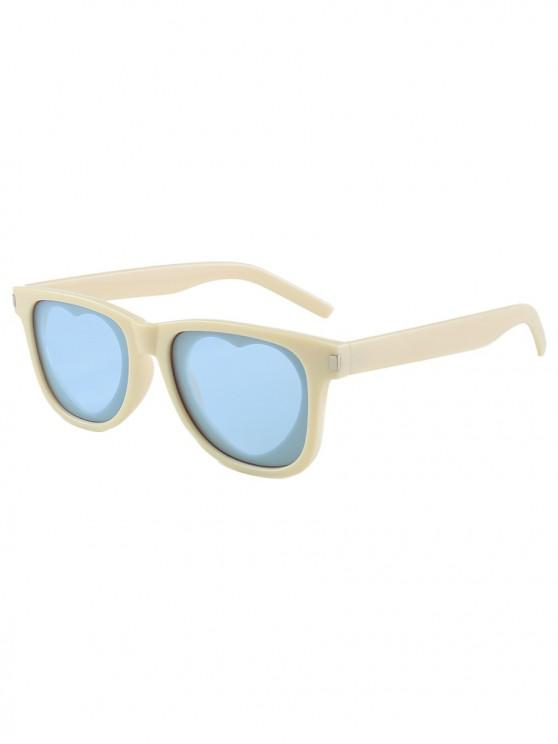 sale Outdoor Anti UV Heart Sunglasses - TAN REGULAR
