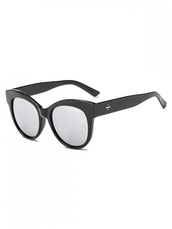 buy Catty Eye Outdoor Sunglasses - SILVER REGULAR