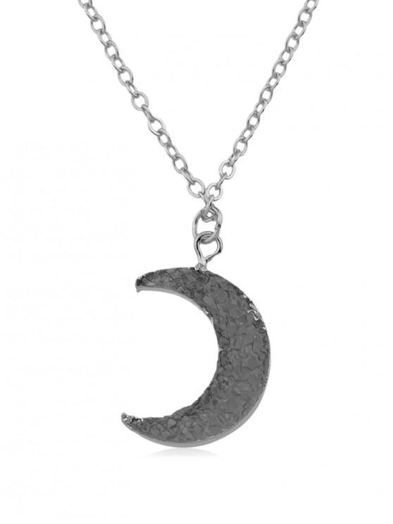 unique Vintage Moon Chain Necklace - SILVER