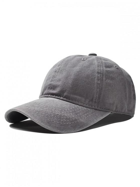 best Vintage Adjustable Baseball Cap - GRAY