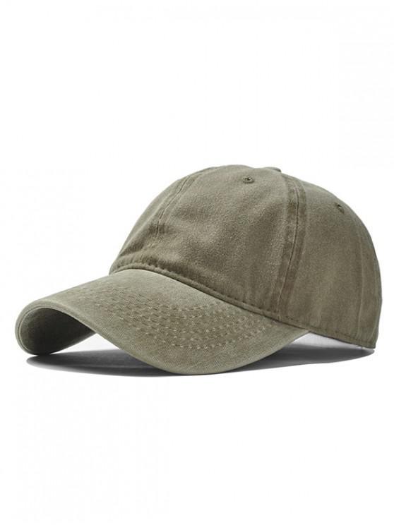 womens Vintage Adjustable Baseball Cap - KHAKI