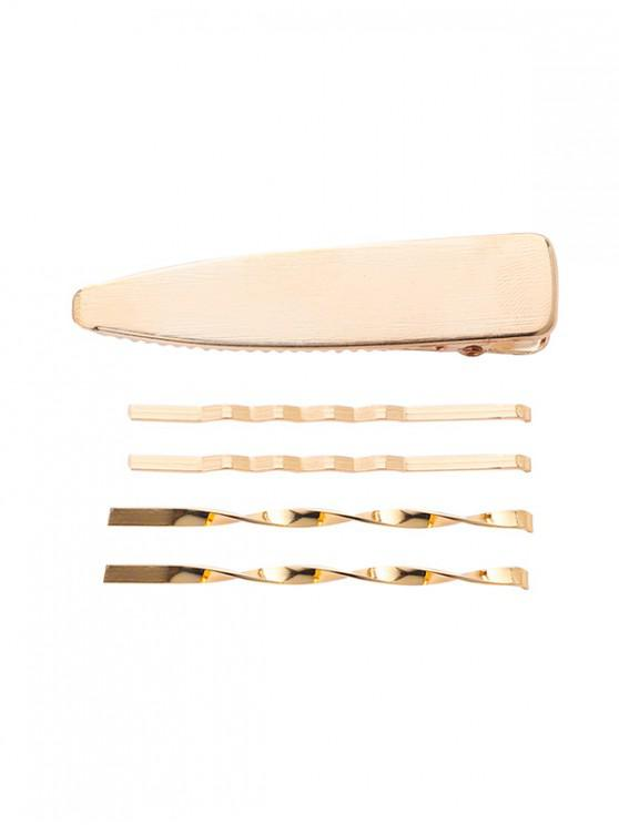 outfit Faux Pearl Geometric Hairpin Set - MULTI-I