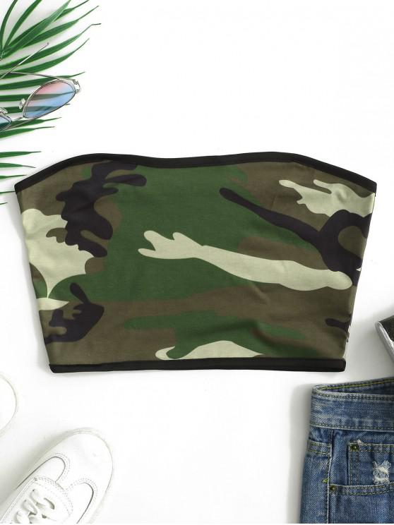 hot Camo Tube Top - ACU CAMOUFLAGE XL