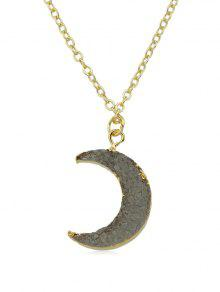 خمر القمر سلسلة قلادة - ذهب