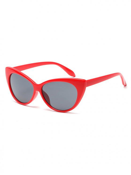 women's Anti UV Catty Eye Sunglasses - RED