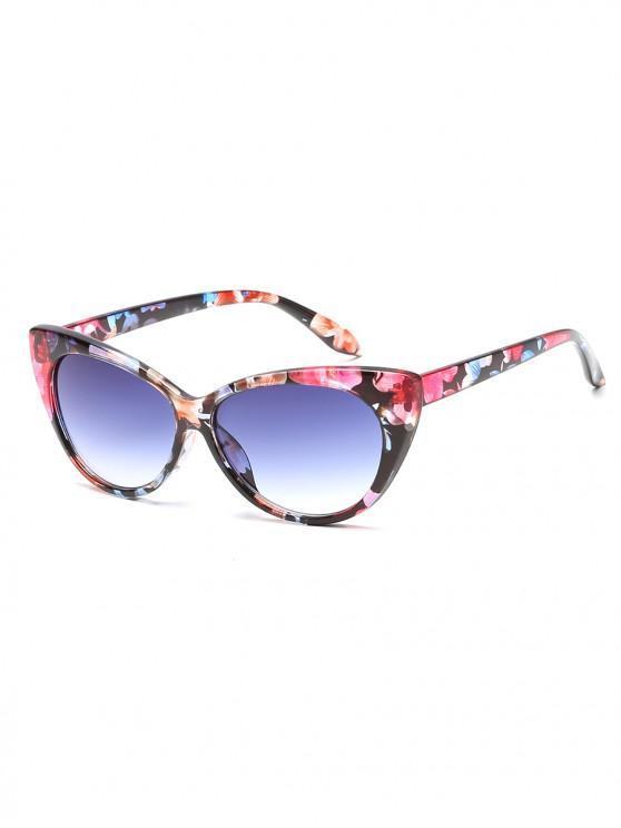 best Anti UV Catty Eye Sunglasses - CROCUS PURPLE