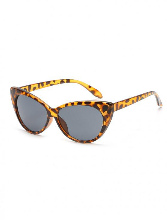 online Anti UV Catty Eye Sunglasses - SANDY BROWN