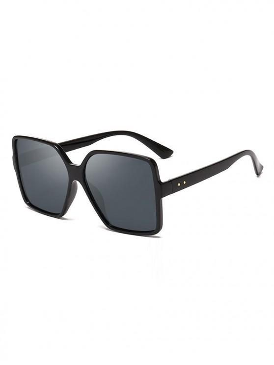 affordable Driver Oversized Polarized Square Sunglasses - CARBON GRAY