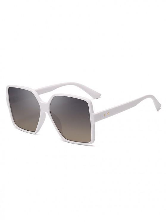 best Driver Oversized Polarized Square Sunglasses - ORANGE PINK