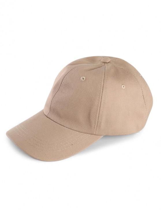 unique Small Hole Sport Baseball Cap - LIGHT KHAKI