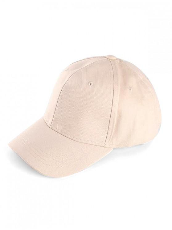 lady Small Hole Sport Baseball Cap - CRYSTAL CREAM