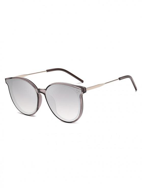 hot Unisex Simple Oversize Sunglasses - PLATINUM