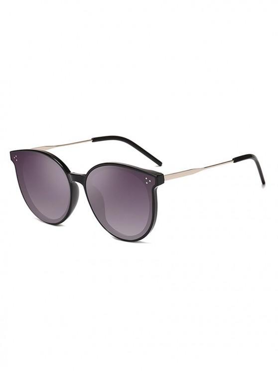 best Unisex Simple Oversize Sunglasses - CARBON GRAY