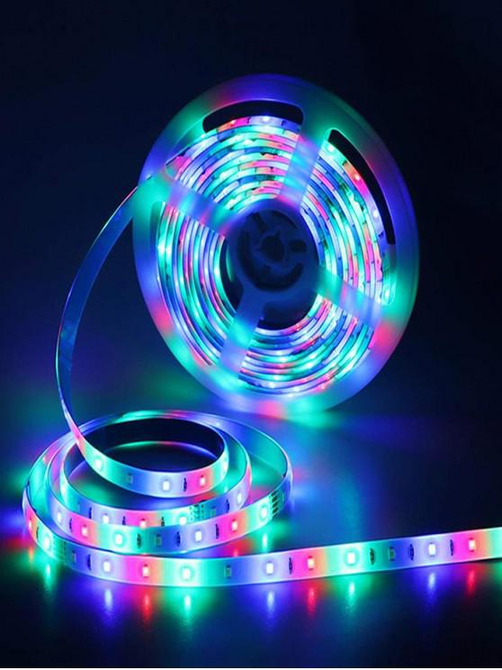 women's 5Meters RGB Waterproof Strip Light - WHITE 5M RGB