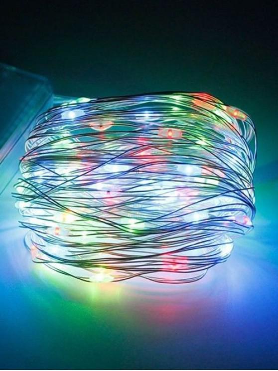 Luz de tira decorativa impermeable de 5 metros 5V LED - Transparente RGB