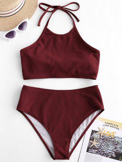 ded96acdeb29f High Neck Swimwear & Bikini   Halter & Two Piece Swimsuit   ZAFUL