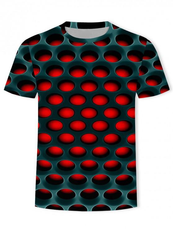 حرق العسل فحم حجري الجرافيك المحملة - أحمر XL