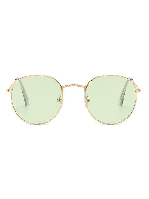 buy Vintage Round Anti UV Sunglasses - MINT GREEN  Mobile