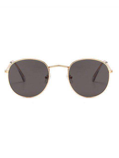 new Vintage Round Anti UV Sunglasses - BLACK  Mobile