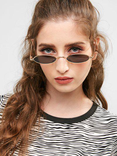 Metal Full Frame Steampunk Sunglasses