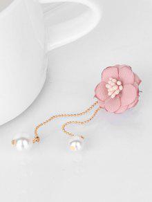 a470d8495 Flower Faux Pearl Dangle Earrings; Flower Faux Pearl Dangle Earrings