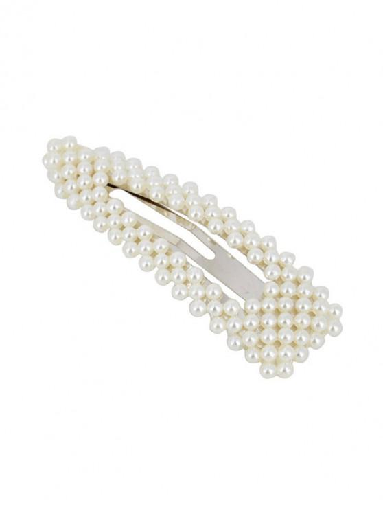 women's Faux Pearls 8CM Hair Grip - MULTI-E